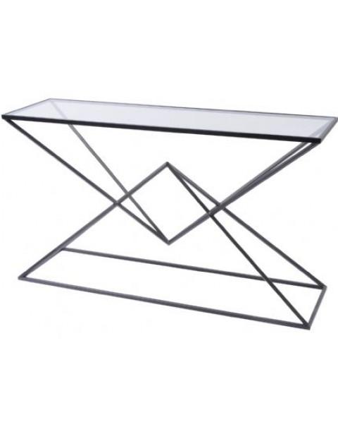Black Pyramid Console Table - Asco Lights